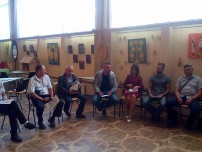 В рамках проекту РДР на Яворівщині пройшов тренінг «Започаткування підприємницької діяльності»  для воїнів АТО